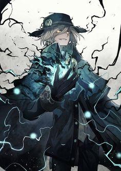 Fate/Grand Order, The Count of Monte Cristo, Edmond Dantes (Fate) / 巌窟王 - pixiv Fantasy Character Design, Character Design Inspiration, Character Concept, Character Art, Dark Fantasy Art, Anime Fantasy, Fantasy Artwork, Mago Anime, Anime Lindo