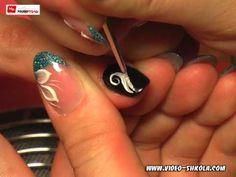 Мастер-класс дизайна ногтей - YouTube