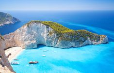 Travelling to Greece? Whether you've got your sights set on Corfu, Santorini, Mykonos or Rhodes, there are a few things you need to know before you go. Greek Islands Vacation, Greek Islands To Visit, Best Greek Islands, Greece Islands, Mykonos Grecia, Santorini, Places In Greece, Greece Beaches, Hidden Beach