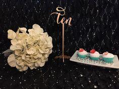 Elegant Freestanding Wedding Table Numbers by PSWeddingsandEvents