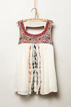 Anthropologie Akemi Kin Siargao Tank Tee top size L embroidery beads Fashion Mode, Look Fashion, Womens Fashion, Mode Style, Style Me, Summer Outfits, Cute Outfits, Estilo Hippie, Mode Boho