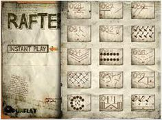 Rafter is a deceptively easy physics based game