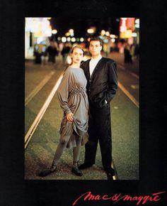 Mac & Maggie 1987. Deze jurk had ik in het zwart!