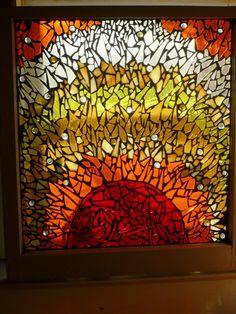 Incredible Mosaic Sun 24x24