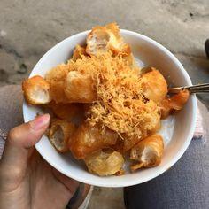 Cháo quẩy ruốc ở phố cổ Hà Nội - http://congthucmonngon.com/78073/chao-quay-ruoc-o-pho-co-ha-noi.html