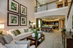 Bring the entire family together for the #holidays in this spacious living room.