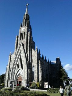 Catedral Nossa Senhora de Lourdes (Catedral de Pedra) em Canela, RS