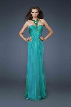 Long Jewel Dress By La Femme 18490 Prom Dresses Fast Shipping