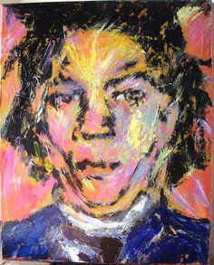 Jean-Michel Basquiat (December 22, 1960 – August 12, 1988) was an American artist, He started as a graffiti writer in New York City,  Basquiat incorporated words into his paintings. Before his career as a painter began he produced punk-inspired postcards for sale on the street, and become known for the political–poetical graffiti under the name of SAMO. and in the 1980s produced Neo-expressionist painting. Basquiat died of a heroin overdose on August 12, 1988.
