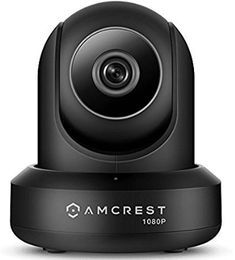 Amcrest WiFi Camera Indoor Pan/Tilt Surveillance Wireless IP Camera, Home Video Security System with IR Night Vision, Two-Way Talk, Motion Detection for Nanny Cam, Pet and Baby Monitor Black : Camera & Photo Ip Security Camera, Video Security, Home Security Tips, Wireless Security Cameras, Wireless Home Security Systems, Security Cameras For Home, Security Surveillance, Surveillance System, Security Service