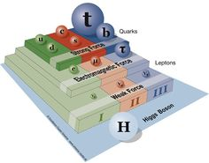 scienceisbeauty:  The Standard Model Of Particle Physics (source)