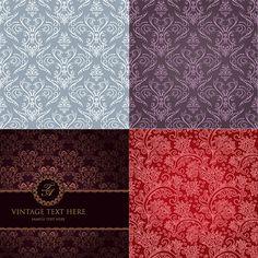 5 Vintage Floral Pattern Wallpaper Backgrounds - http://www.welovesolo.com/5-vintage-floral-pattern-wallpaper-backgrounds/
