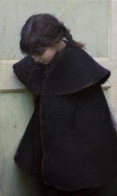 Jeremy Lipking - Skylar Black Coat