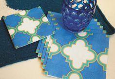 Caspari Casablanca paper plates and napkins