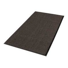 "Entrance Mat, 3 x 5 Ft., Brown by Notrax. $102.96. Heavy-Traffic Entrance MattingUse Boulevard and Uptown together as an upscale scrape and dry entrance matting system. Heavyweight vinyl-backed mats ensure minimum movement while protecting floors. Beveled edge on 4 sides minimize tripping. 3/8"" thick.UptownHigh-low looped pile design of 40 oz. tufted Decalon yarn provides moisture absorption and crush resistance.Entrance Mat, Size 3 x 5 Ft., Thickness 3/8 In.,..."