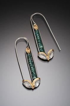 Art Deco Jewellery in Sydney Leaf Jewelry, Art Deco Jewelry, Sea Glass Jewelry, Silver Jewelry, Fine Jewelry, Jewelry Design, Jewelry Making, Silver Earrings, Silver Ring