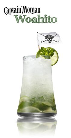 Mojito? More like Woahito. Mix up this summer classic with Captain Morgan White Rum and... put some loca in your boca.