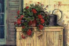 Carol Rowan Art | Gardener's Still Life by Carol Rowan art print