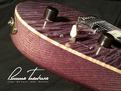 Mirror finishing - Bruno Traverso Guitars