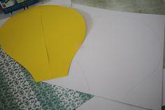 Bonjour à tous, Aujourd'hui un tutoriel pas à pas pour vous présenter ma dernière création, une montgolfière pour la chambre de mon fils ! A force de...