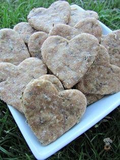 (wheat-free) basil chicken liver dog treat/biscuit recipe