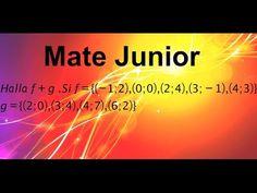 Suma de funciones Suscribete a mi canal Matejunior de youTube