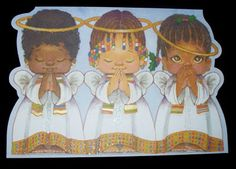 greeting cards with painted angels - Google Search