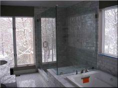 Glamorous grey bathroom | Bathroom