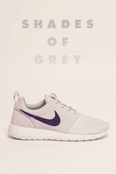 035e9dd6ffbbf Nike Grey Roshe Run Suede Trainers Discount Nike Shoes