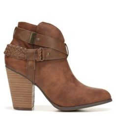 Stack up style in the Kasper Bootie from xoxo.Faux leather upper in an ankle 3e205c0cadb
