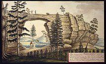 Pravcicka brana – Johann Venuto podle Rainera Mussiala (1815)