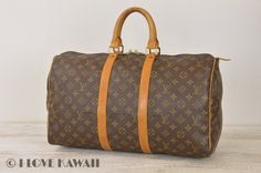 Louis Vuitton Monogram Keepall 45 Travel Bag M41428