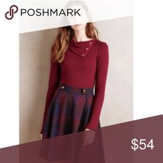 Anthropologie Dolan left coast snap neck pullover Anthropologie Dolan left coast snap neck pullover sweater! Gorgeous color-very lightweight. Anthropologie Sweaters