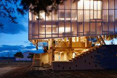 Nest We Grow / College of Environmental Design UC Berkeley + Kengo Kuma & Associates