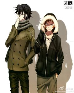 Fushimi & Yata | K-Project #anime