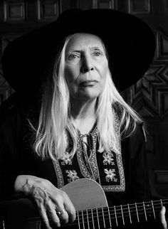 Celebrating Joni Mitchell (born Roberta Joan Anderson, Scorpio: November at 72 years // Photos: by Hedi Slimane for Saint Laurent, January 2015 Hedi Slimane, Wise Women, Old Women, Saint Laurent, Laura Ashley, Grunge, New Saints, Advanced Style, Mademoiselle