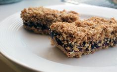 Wake Up to Blueberry Breakfast Bars. Substitute honey for the cane sugar and use almond flour instead of real flower to make even better