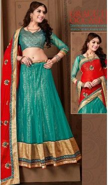 #Emerald Color #Net A Line Style #Stitched Lehenga Choli | FH459471782 #heenastyle, #designer, #lehengas, #choli, #collection, #women, #online, #wedding , #Bollywood, #stylish, #indian, #party, #ghagra, #casual, #sangeet, #mehendi, #navratri, #fashion, #boutique, #mode, #henna, #wedding, #fashion-week, #ceremony, #receptions, #ring , #dupatta , #chunni , @heenastyle , #Circular , #engagement