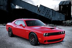 The New 600 Horsepower, 2015 Dodge Challenger SRT Hellcat