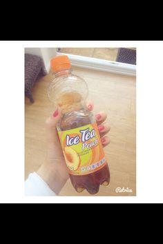 Iced tea #tea #iced #perfect #peach #love