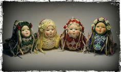 """Коллекционные куклы ручной работы. """"Птички-невелички"""". Ольга Коробова. Интернет-магазин Ярмарка Мастеров. Птицы, день рождения"""