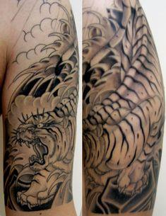 29 Best Japanese Tiger Sleeve Tattoo Images Arm Tattoo Arm