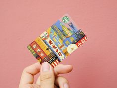 """I created two illustrations for Starbucks city cards series """"Temperature Of A City"""". Shanghai is the city where I live, and as a tourist, I was deeply impressed by Suzhou. Starbucks Rewards, Starbucks Gift Card, Credit Card Design, Member Card, Atm Card, Plane Design, City Illustration, Cool Things To Buy, Cool Designs"""