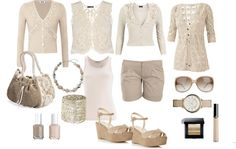 """""""Pure Natural Neutral Collection"""" by gracehands on Polyvore"""