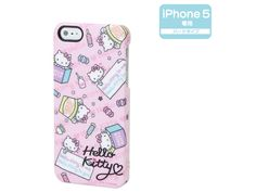 Hello Kitty iPhone 5 Cover Case Hard Type Candy SANRIO