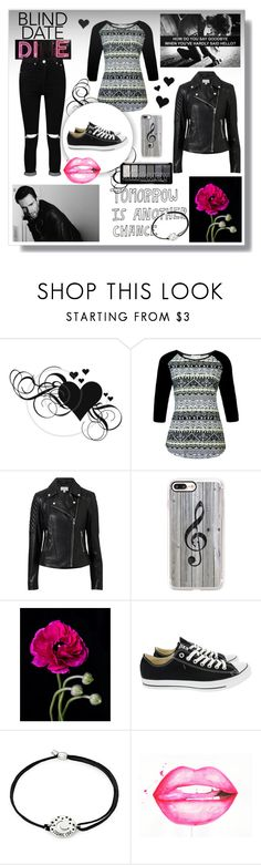 """""""Teenage tumbler love"""" by toasumjas ❤ liked on Polyvore featuring Witchery, Casetify, Adam Levine, Converse, Alex and Ani, GET LOST and Boohoo"""