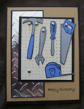 Resultado de imagen para tarjetas de cumpleaños para hombres scrapbook