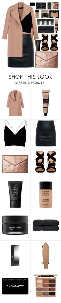 """""""take me home (top set)"""" by charli-oakeby ❤ liked on Polyvore featuring Rochas, Aesop, River Island, McQ by Alexander McQueen, Rebecca Minkoff, Gianvito Rossi, NARS Cosmetics, MAKE UP FOR EVER, Koh Gen Do and Sephora Collection"""