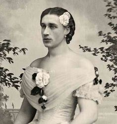 Madame Pattrini (B. Morris Young)1800s: Brigham Young's son, Brigham Morris Young, made a career in drag performing as Madam Pattrini. Supposedly, his falsetto was so convincing that many audiences did not know he was a man.