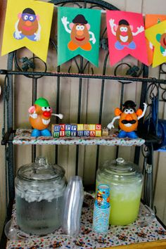 """Potpourrimommy: Mr. Potato Head Birthday Party- M keeps randomly feeling us that he wants a """"potato party"""" for his next birthday. No idea where he got that idea, but pinning this in case it sticks (we've got quite awhile, but he's not one to easily forget)!"""